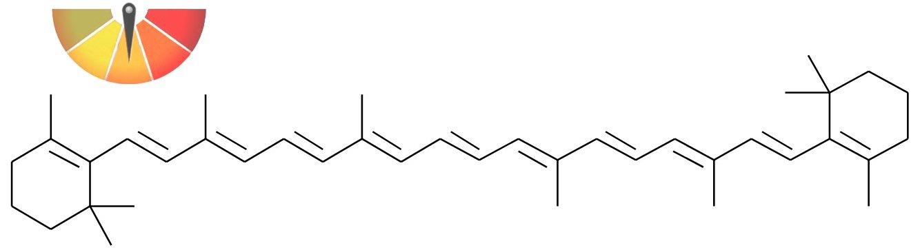 All-trans beta-carotene formula