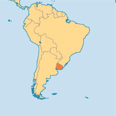 La Garra Charrúa dell'Uruguay