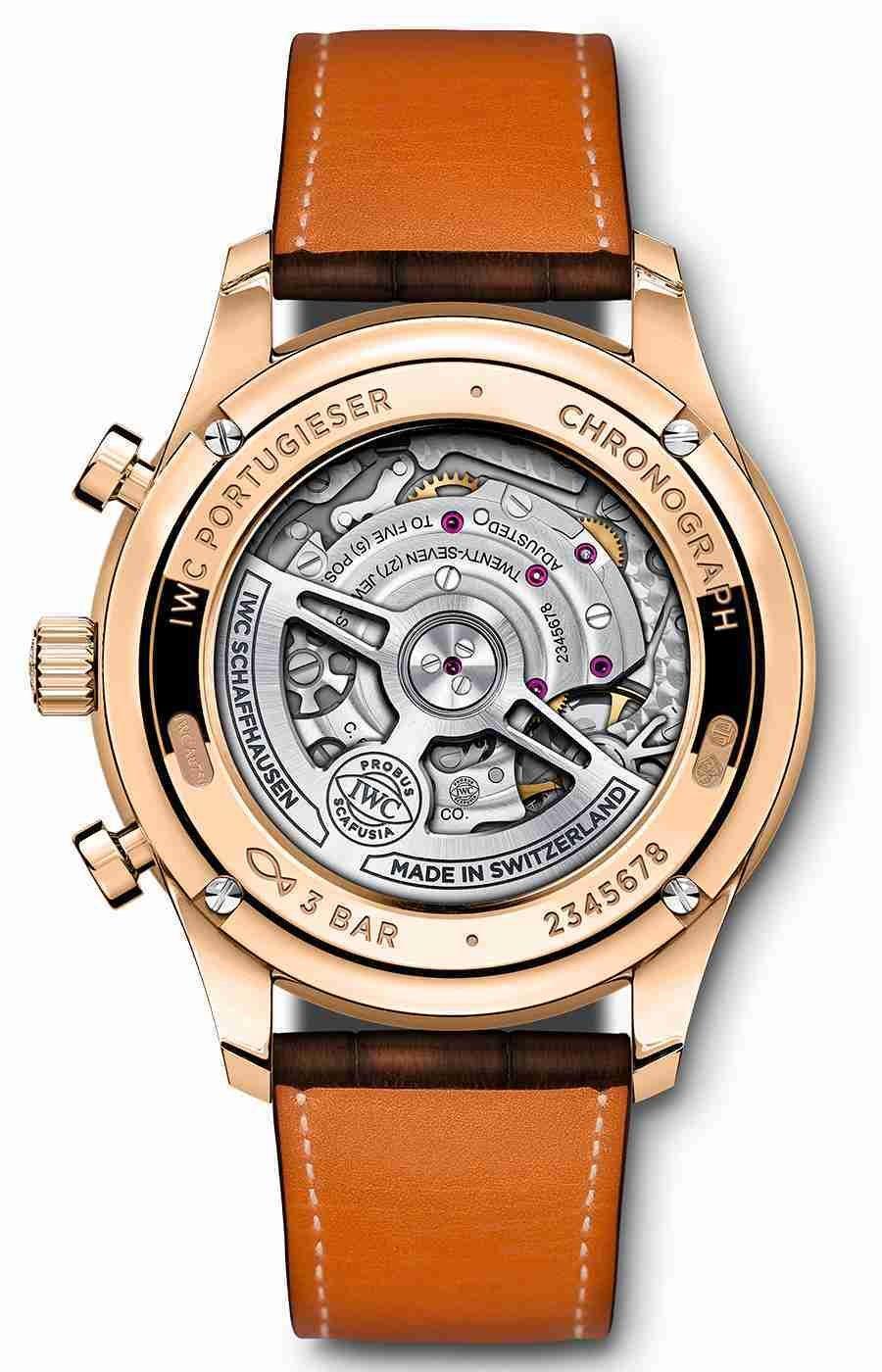 Neuerscheinung von Replik der Uhren IWC Portugieser In-House Automatik Chronographen