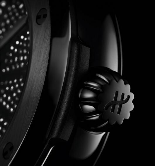 Bewertung von Replik Hublot Classic Fusion Takashi Murakami Ganz schwarz Keramik 45mm 3
