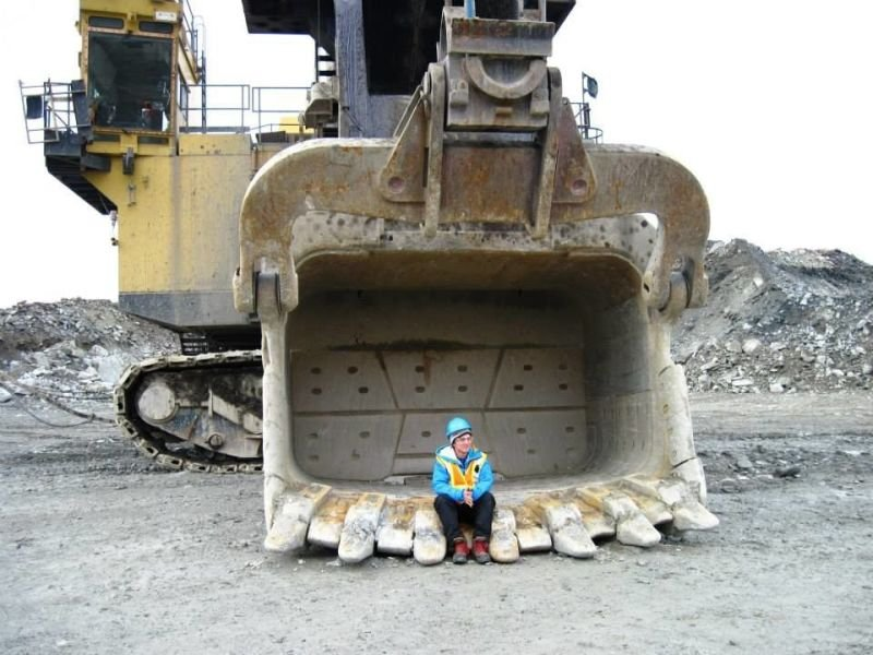 Copper-gold mine, in Timmins Ontario