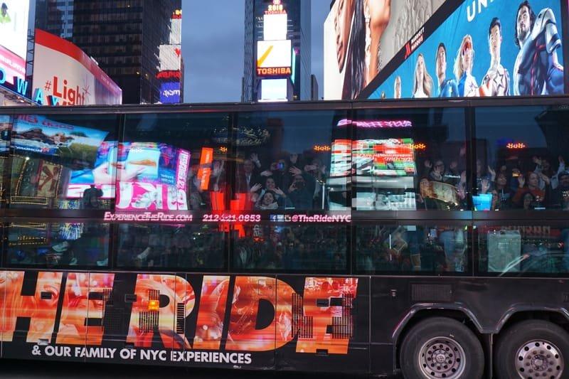 Times Square visitors
