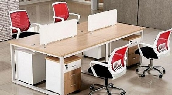 Contemporary office furnishings