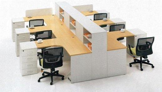 Modern day office desk