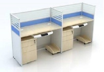 pc modern white office furniture