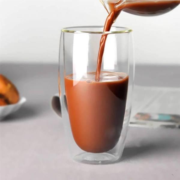 מגוון כוסות זכוכית מושלמות לשתייה חמה וקרה