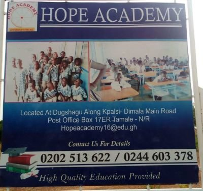 Welcome to Hope Academy