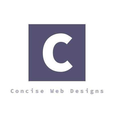 Concise Web Designs