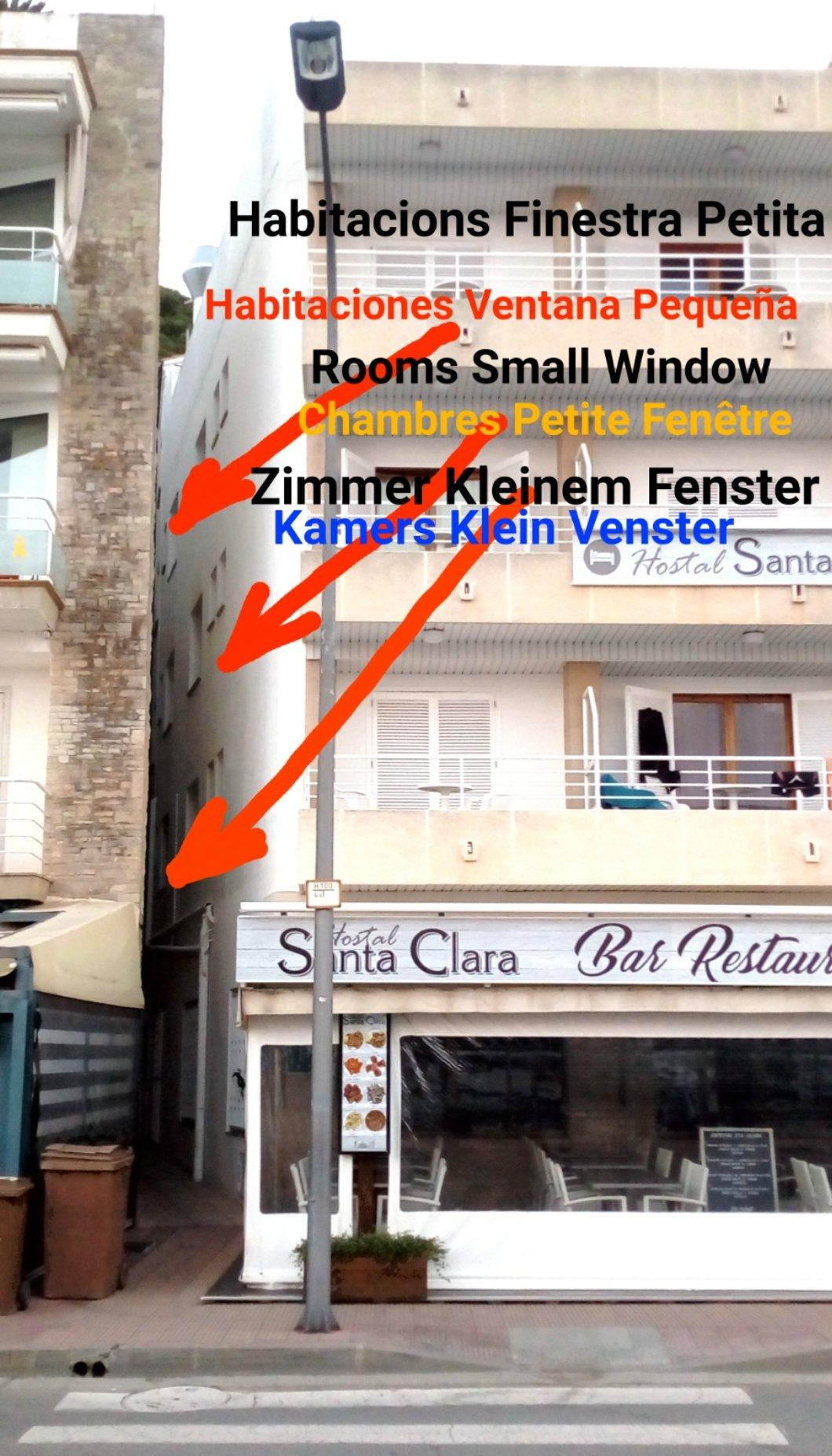 santa clara small double room habitaciones zimmer kamers