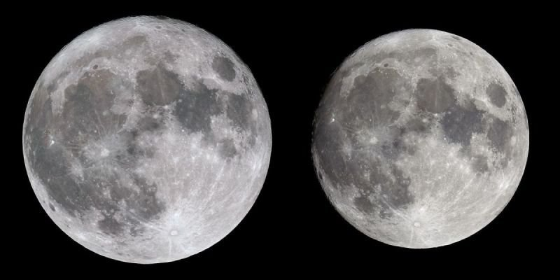 FULL MOON at Perigee and Apogee