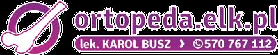ortopeda.elk.pl lek. Karol Busz 570 767 112