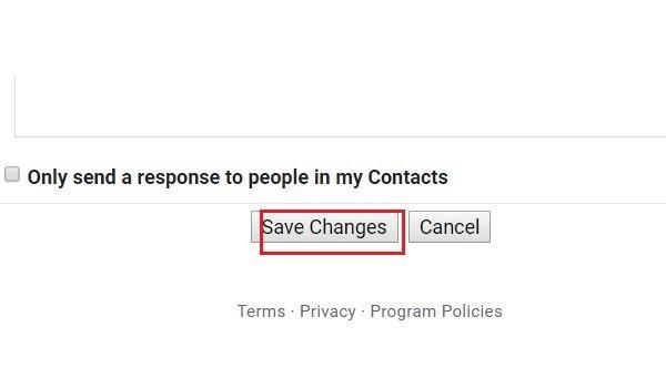 """Tạo chữ ký Email trên Gmail bước 3 Nhấn nút """"Save changes"""" để lưu lại thiết lập"""