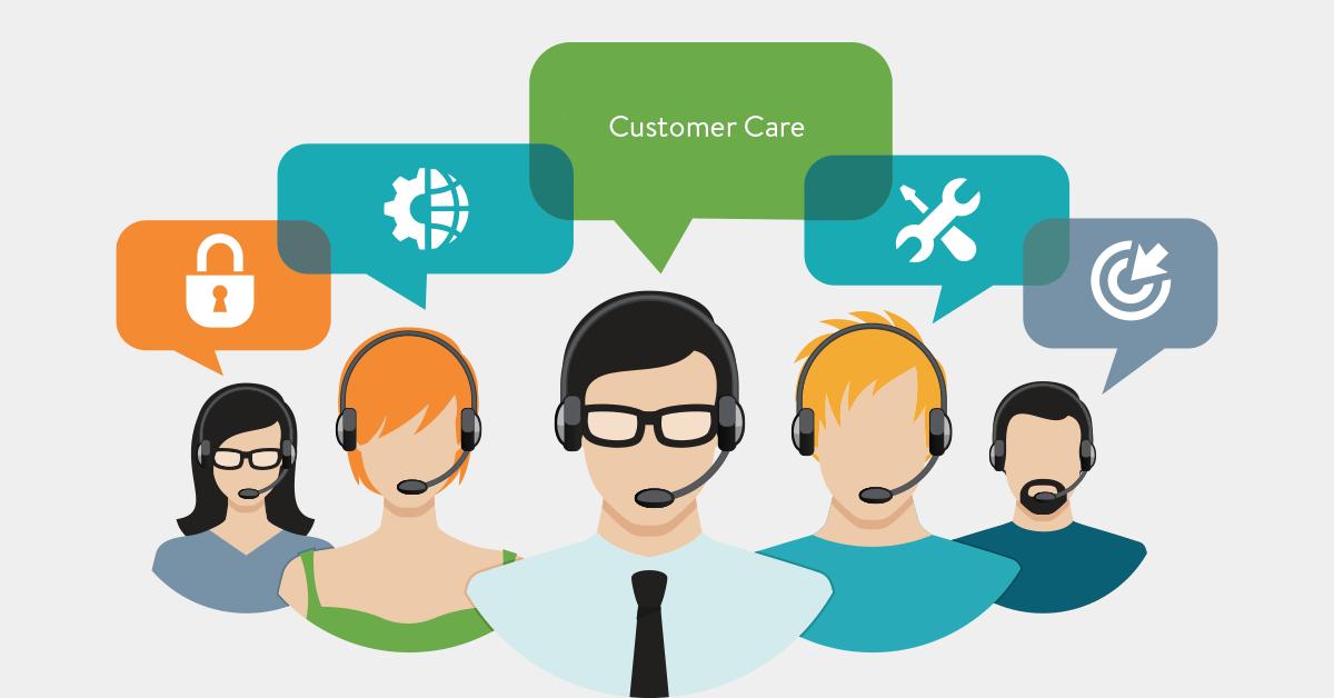 Luôn có nhân viên chăm sóc khách hàng hỗ trợ chatbot