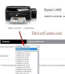 How do I install print driver on Windows 10 and Mac OS Software Update?