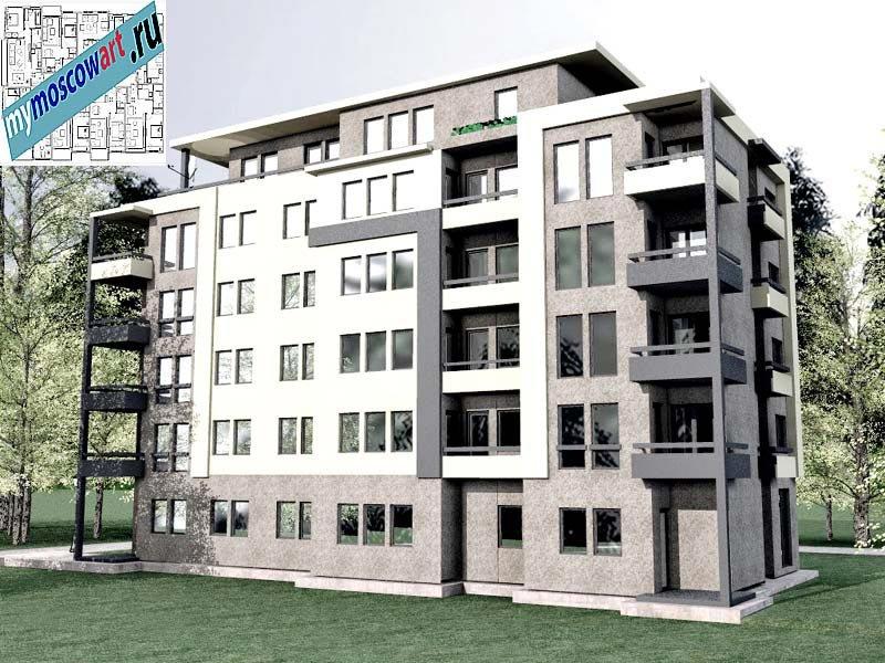 Проект здания - Бобан