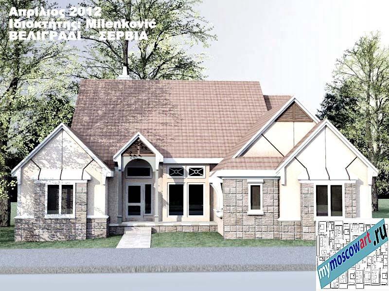 Проект дома - Миленкович