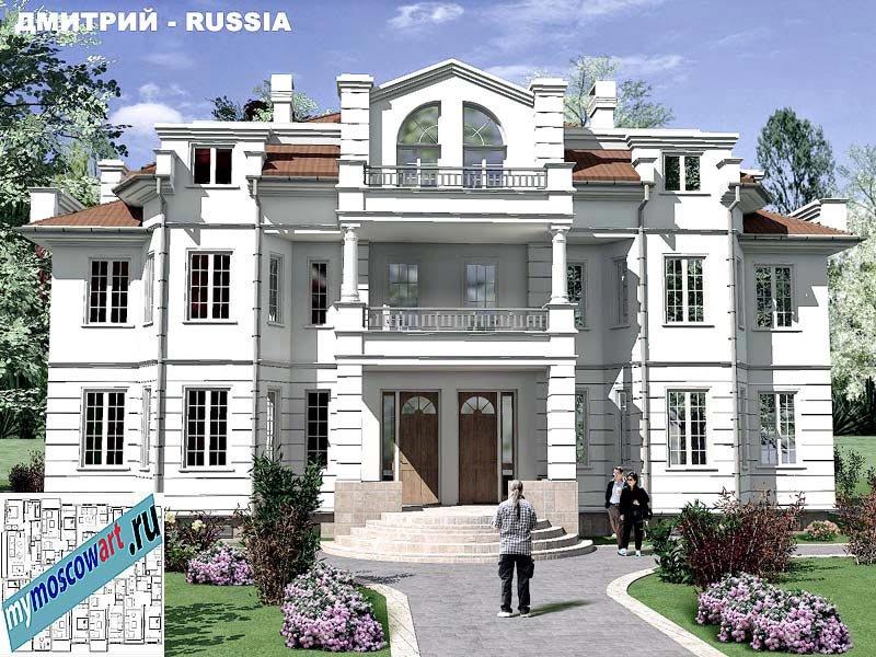 Проект дома - Димитрий