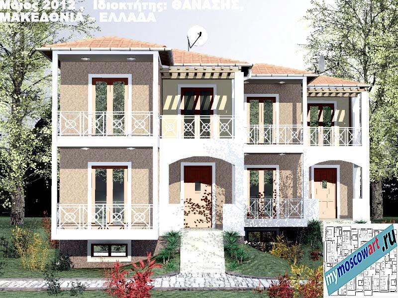 Проект дома - Фанасис