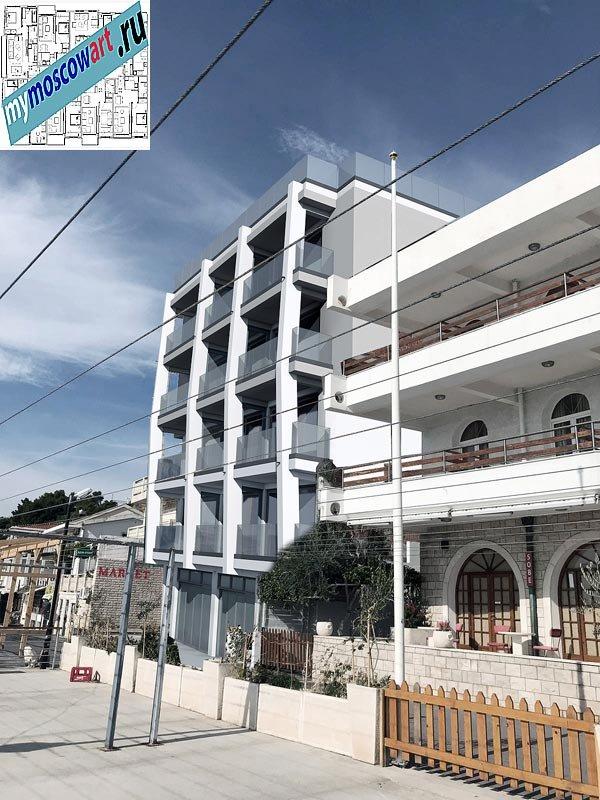 Проект отеля - Кнеселац