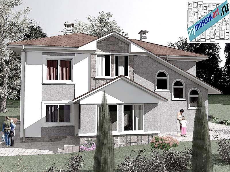 Проект пристройки дома - Виданович