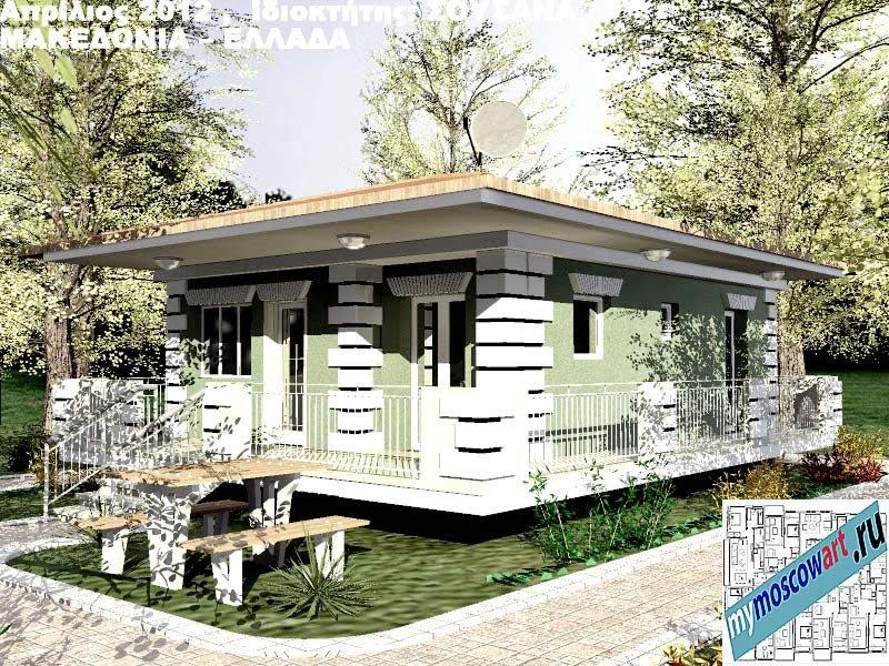 Проект дома - Сузана