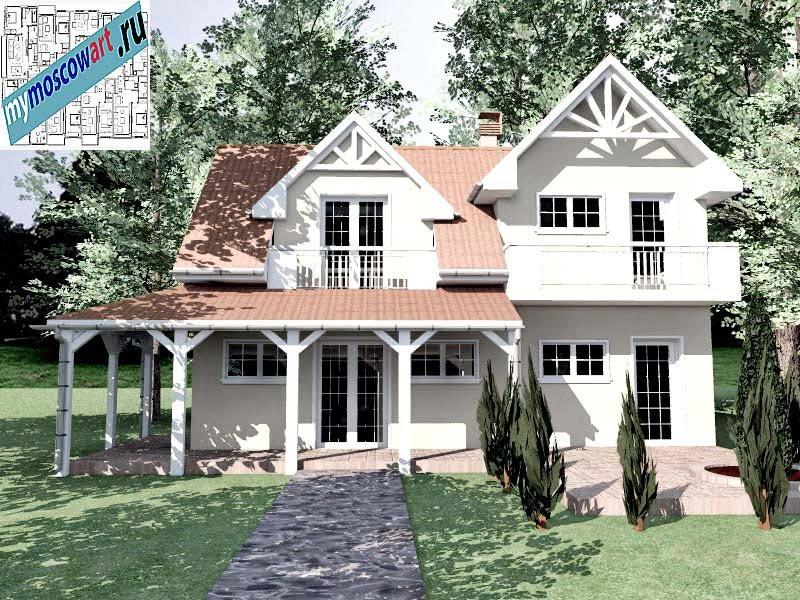 Проект дома - Снежана