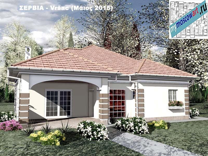 Проект дома - Милена