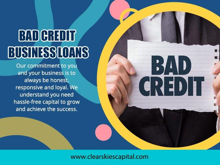 Bad Credit Business Loan