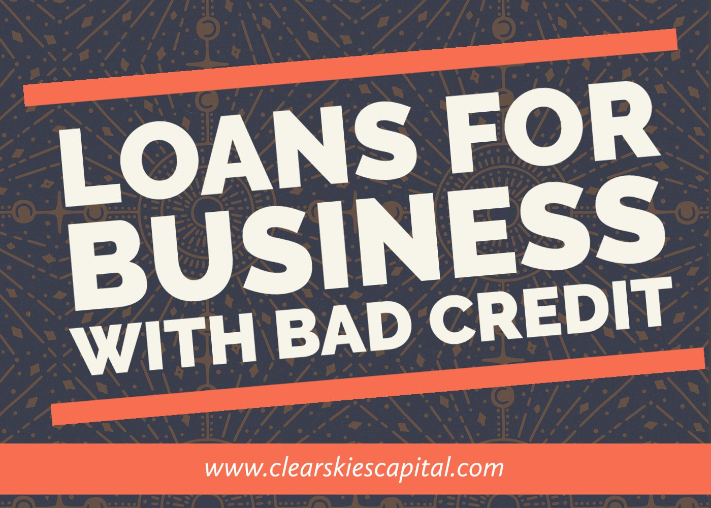 Loan for Business With Bad Credit