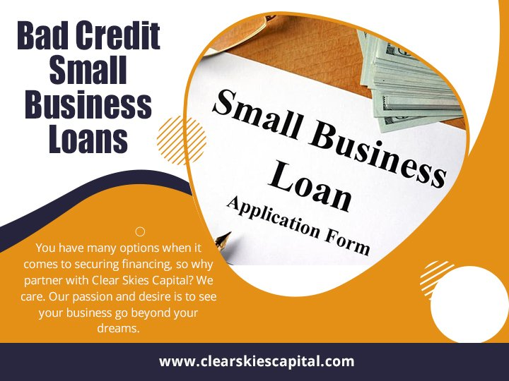 Bad Credit Small Business Loan