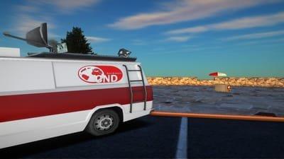 Camioneta de CND