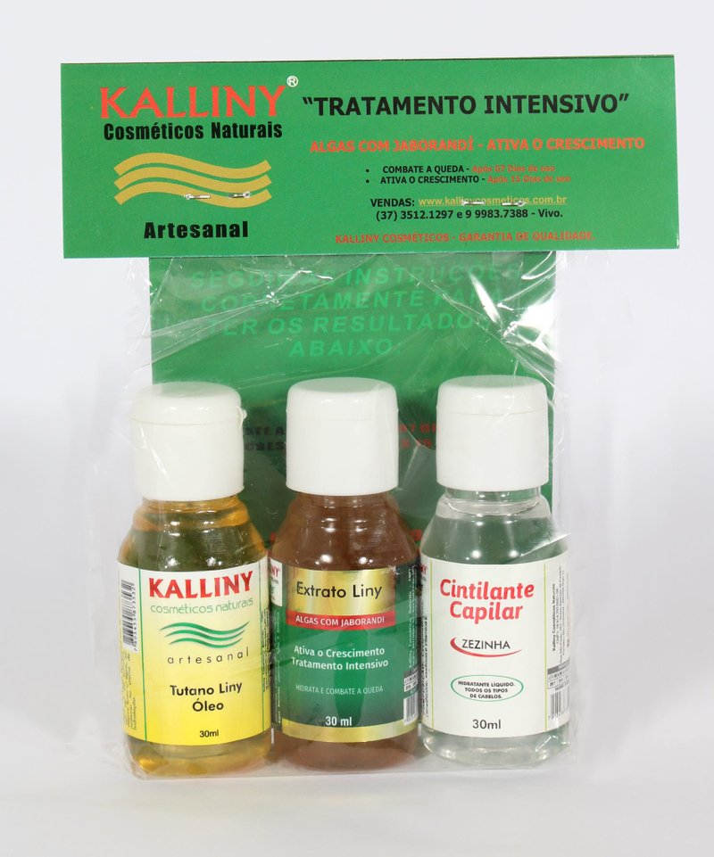 Kit Tratamento Intensivo  COMPLETO - (Flip Top)
