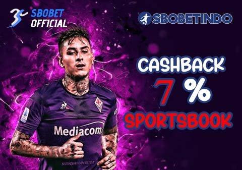 Cashback 7% Sportsbook