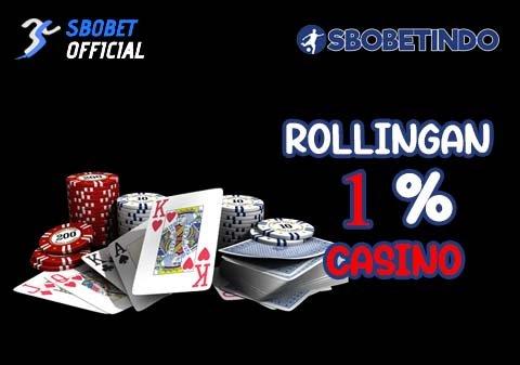 Rollingan 1% Casino