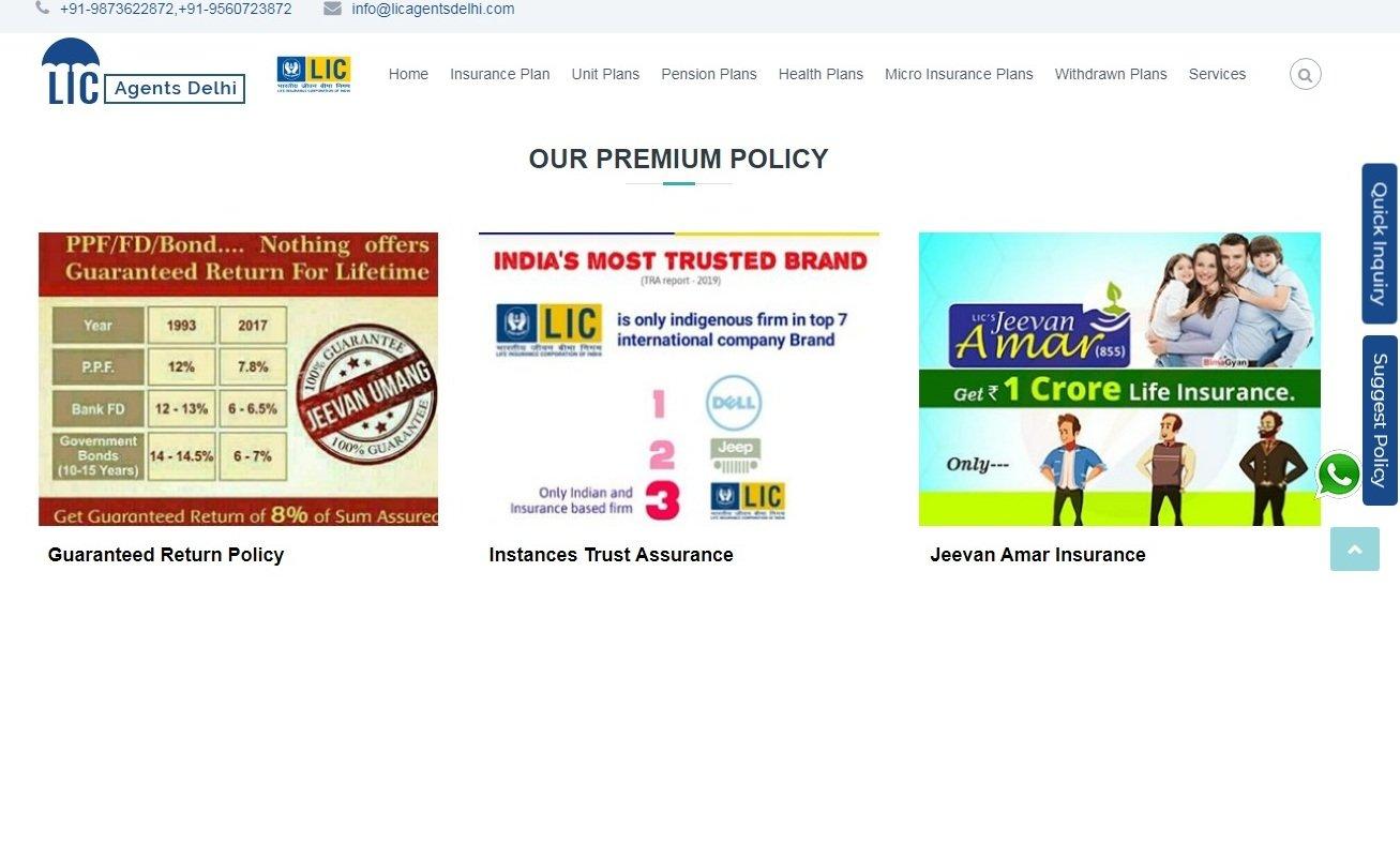 Lic agent in South Delhi