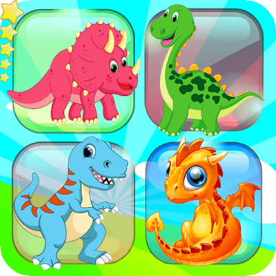 Memory game - Dinosaur matching
