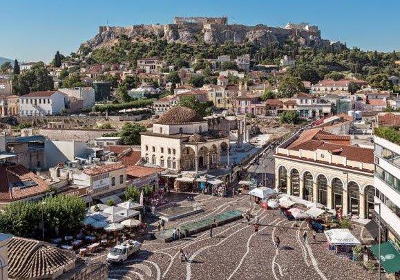 Stadtbesichtigung Athen  12.05.2018