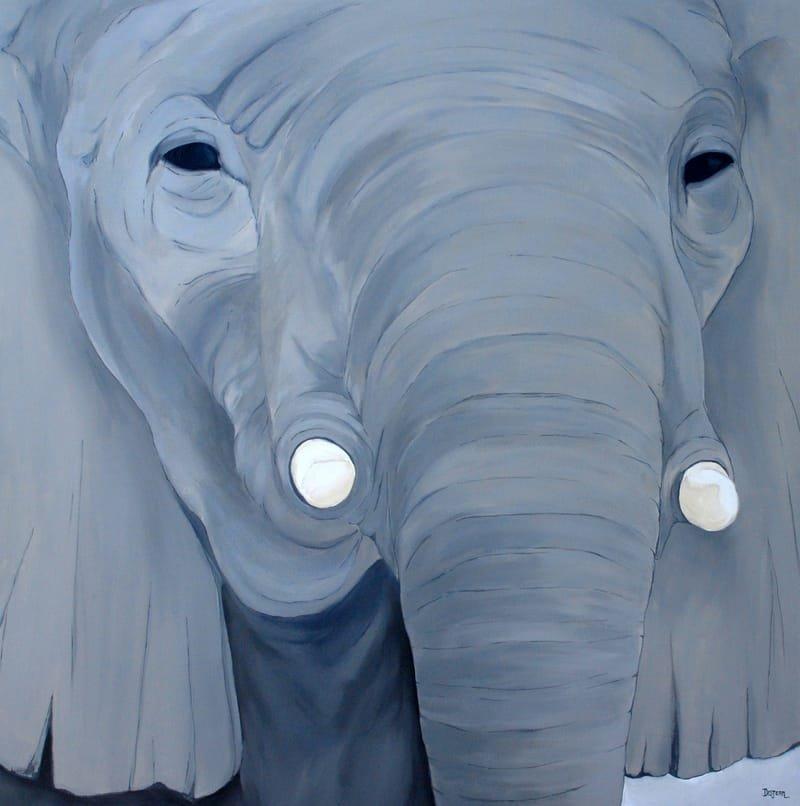 Série Éléphant - 1